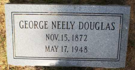DOUGLAS, GEORGE NEELY - Ashley County, Arkansas | GEORGE NEELY DOUGLAS - Arkansas Gravestone Photos
