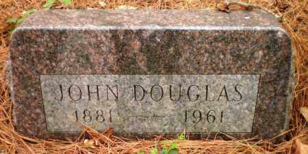 DOUGLAS, JOHN - Ashley County, Arkansas | JOHN DOUGLAS - Arkansas Gravestone Photos