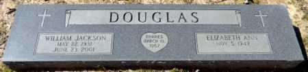 DOUGLAS, WILLIAM JACKSON - Ashley County, Arkansas   WILLIAM JACKSON DOUGLAS - Arkansas Gravestone Photos