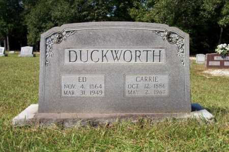 DUCKWORTH, ED - Ashley County, Arkansas | ED DUCKWORTH - Arkansas Gravestone Photos