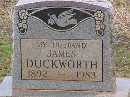 DUCKWORTH, JAMES - Ashley County, Arkansas | JAMES DUCKWORTH - Arkansas Gravestone Photos