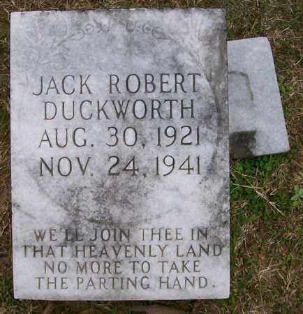 DUCKWORTH, JACK ROBERT - Ashley County, Arkansas | JACK ROBERT DUCKWORTH - Arkansas Gravestone Photos