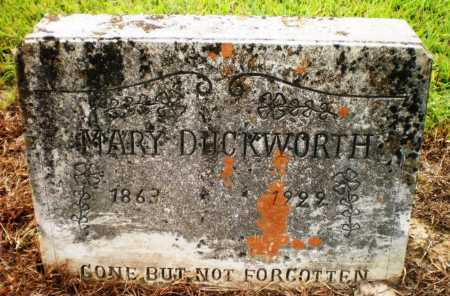 DUCKWORTH, MARY - Ashley County, Arkansas | MARY DUCKWORTH - Arkansas Gravestone Photos