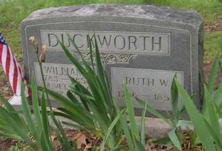 WELBORN DUCKWORTH, RUTH W - Ashley County, Arkansas | RUTH W WELBORN DUCKWORTH - Arkansas Gravestone Photos