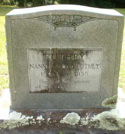 FUTHEY, NANNIE LEONA - Ashley County, Arkansas | NANNIE LEONA FUTHEY - Arkansas Gravestone Photos