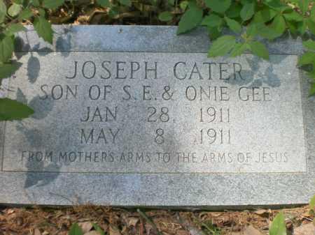 GEE, JOSEPH CATER - Ashley County, Arkansas | JOSEPH CATER GEE - Arkansas Gravestone Photos