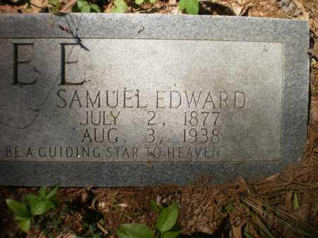 GEE, SAMUEL EDWARD - Ashley County, Arkansas | SAMUEL EDWARD GEE - Arkansas Gravestone Photos