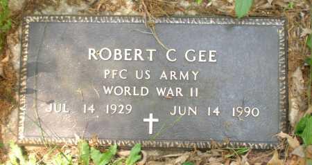 GEE (VETERAN WWII), ROBERT C - Ashley County, Arkansas | ROBERT C GEE (VETERAN WWII) - Arkansas Gravestone Photos