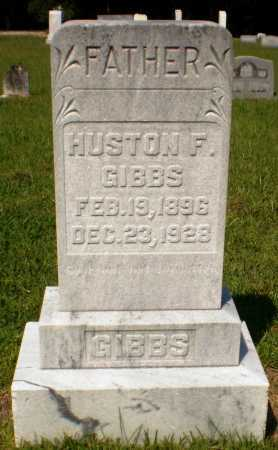 GIBBS, HUSTON F - Ashley County, Arkansas | HUSTON F GIBBS - Arkansas Gravestone Photos