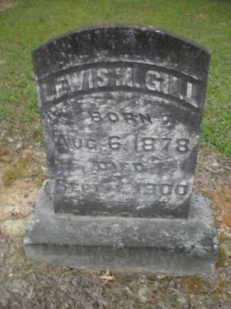 GILL, LEWIS M - Ashley County, Arkansas   LEWIS M GILL - Arkansas Gravestone Photos