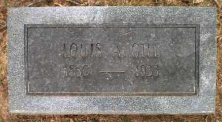 GILL, LOUIS A - Ashley County, Arkansas | LOUIS A GILL - Arkansas Gravestone Photos