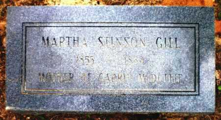 GILL, MARTHA - Ashley County, Arkansas | MARTHA GILL - Arkansas Gravestone Photos