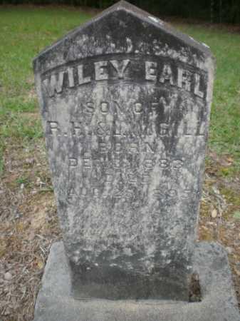 GILL, WILEY EARL - Ashley County, Arkansas | WILEY EARL GILL - Arkansas Gravestone Photos