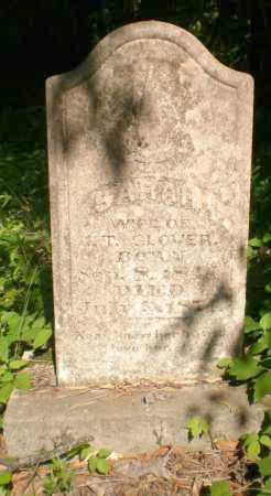 GLOVER, SARAH - Ashley County, Arkansas | SARAH GLOVER - Arkansas Gravestone Photos
