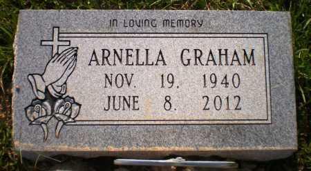 "GRAHAM, ARNELLA ""NELL"" (OBIT) - Ashley County, Arkansas   ARNELLA ""NELL"" (OBIT) GRAHAM - Arkansas Gravestone Photos"