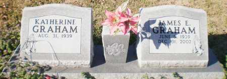 GRAHAM, JAMES  E - Ashley County, Arkansas | JAMES  E GRAHAM - Arkansas Gravestone Photos
