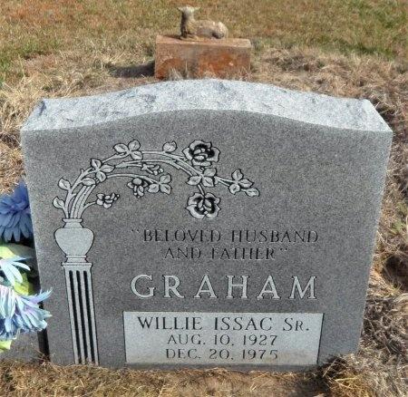GRAHAM, SR., WILLIE ISAAC (NEW STONE) - Ashley County, Arkansas | WILLIE ISAAC (NEW STONE) GRAHAM, SR. - Arkansas Gravestone Photos