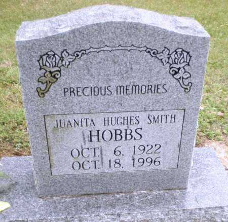 HOBBS, JUANITA - Ashley County, Arkansas   JUANITA HOBBS - Arkansas Gravestone Photos