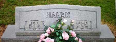 HARRIS, LUCILLE G - Ashley County, Arkansas | LUCILLE G HARRIS - Arkansas Gravestone Photos