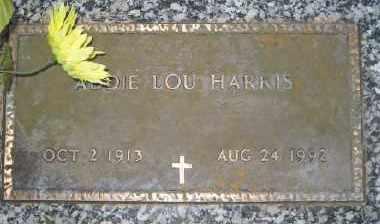 HARRIS, ADDIE LOU - Ashley County, Arkansas   ADDIE LOU HARRIS - Arkansas Gravestone Photos