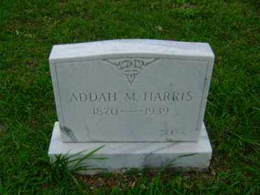 HARRIS, ADDAH M - Ashley County, Arkansas | ADDAH M HARRIS - Arkansas Gravestone Photos