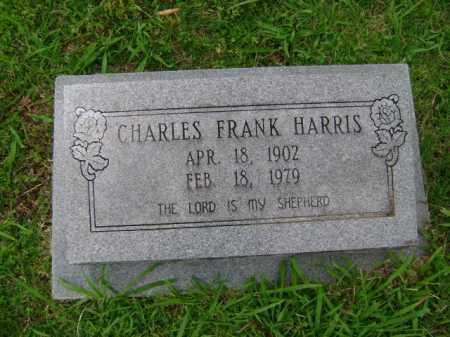 HARRIS, CHARLES FRANK - Ashley County, Arkansas | CHARLES FRANK HARRIS - Arkansas Gravestone Photos