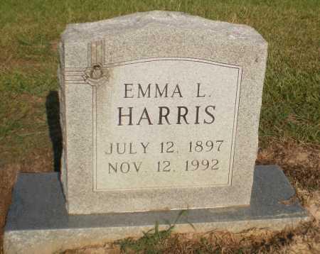 HARRIS, EMMA L - Ashley County, Arkansas   EMMA L HARRIS - Arkansas Gravestone Photos