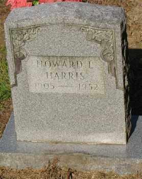HARRIS, HOWARD L. - Ashley County, Arkansas   HOWARD L. HARRIS - Arkansas Gravestone Photos