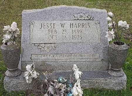 HARRIS, JESSE W. - Ashley County, Arkansas | JESSE W. HARRIS - Arkansas Gravestone Photos