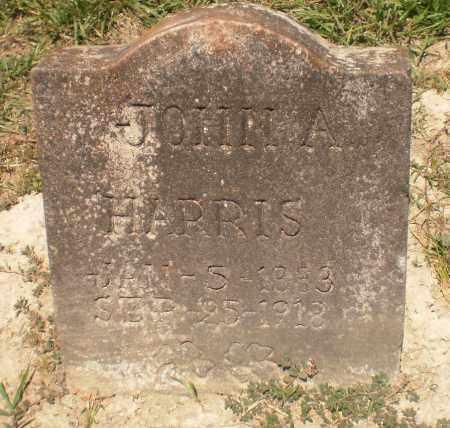 HARRIS, JOHN A - Ashley County, Arkansas | JOHN A HARRIS - Arkansas Gravestone Photos