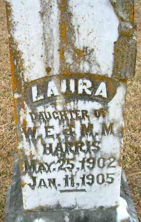 HARRIS, LAURA - Ashley County, Arkansas | LAURA HARRIS - Arkansas Gravestone Photos