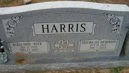 "HARRIS, NOBLE TROY ""BUCK"" - Ashley County, Arkansas | NOBLE TROY ""BUCK"" HARRIS - Arkansas Gravestone Photos"