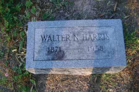 HARRIS, WALTER N - Ashley County, Arkansas | WALTER N HARRIS - Arkansas Gravestone Photos