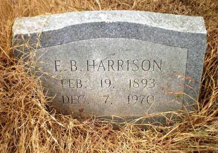 HARRISON, E B - Ashley County, Arkansas | E B HARRISON - Arkansas Gravestone Photos