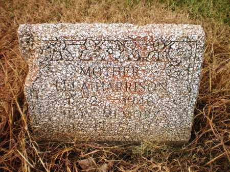 HARRISON, ELLA - Ashley County, Arkansas | ELLA HARRISON - Arkansas Gravestone Photos