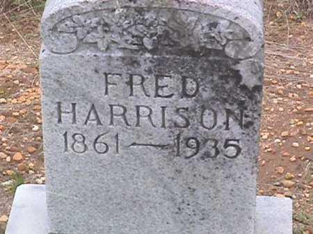 HARRISON, FRED - Ashley County, Arkansas   FRED HARRISON - Arkansas Gravestone Photos