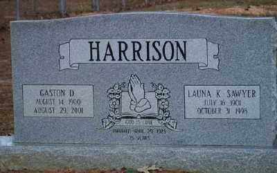 HARRISON, GASTON D. - Ashley County, Arkansas   GASTON D. HARRISON - Arkansas Gravestone Photos