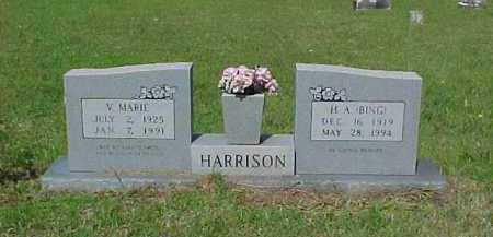 HARRISON, H. A. - Ashley County, Arkansas | H. A. HARRISON - Arkansas Gravestone Photos