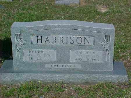 HARRISON, SALLIE K - Ashley County, Arkansas | SALLIE K HARRISON - Arkansas Gravestone Photos