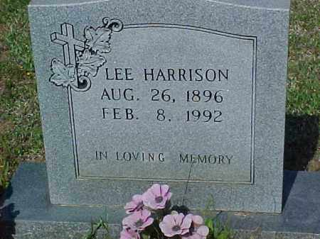 HARRISON, LEE - Ashley County, Arkansas | LEE HARRISON - Arkansas Gravestone Photos