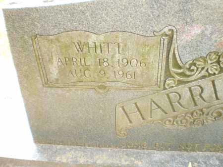 HARRISON, WHITT (CLOSE UP) - Ashley County, Arkansas | WHITT (CLOSE UP) HARRISON - Arkansas Gravestone Photos