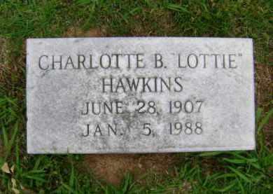 HAWKINS, CHARLOTTE B LOTTIE - Ashley County, Arkansas | CHARLOTTE B LOTTIE HAWKINS - Arkansas Gravestone Photos