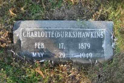 HAWKINS, CHARLOTTE - Ashley County, Arkansas | CHARLOTTE HAWKINS - Arkansas Gravestone Photos
