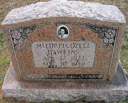 HAWKINS, MILDRED OZELL - Ashley County, Arkansas | MILDRED OZELL HAWKINS - Arkansas Gravestone Photos