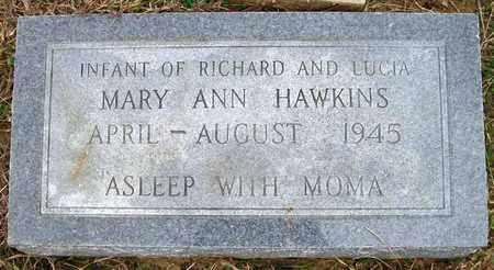 HAWKINS, MARY ANN - Ashley County, Arkansas | MARY ANN HAWKINS - Arkansas Gravestone Photos