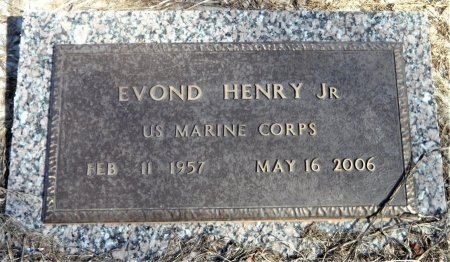 HENRY, JR. (VETERAN), EVOND - Ashley County, Arkansas | EVOND HENRY, JR. (VETERAN) - Arkansas Gravestone Photos