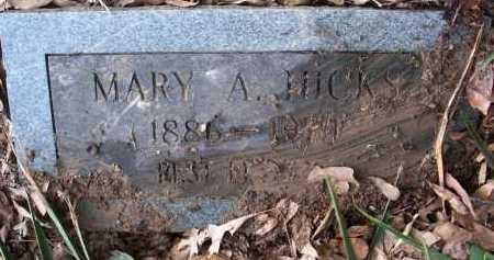 HICKS, MARY A. - Ashley County, Arkansas | MARY A. HICKS - Arkansas Gravestone Photos