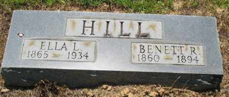 HILL, ELLA L. - Ashley County, Arkansas | ELLA L. HILL - Arkansas Gravestone Photos