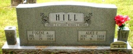 HILL, EUGENE A. - Ashley County, Arkansas | EUGENE A. HILL - Arkansas Gravestone Photos