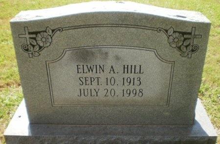 HILL, ELWIN A. - Ashley County, Arkansas | ELWIN A. HILL - Arkansas Gravestone Photos